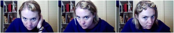 pin curls 1
