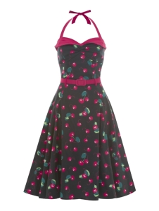 Ginger 50s cherry doll black A