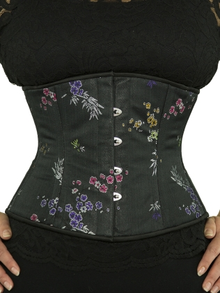 The beautiful brocade corset I have ordered...